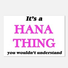 It's a Hana thing, yo Postcards (Package of 8)
