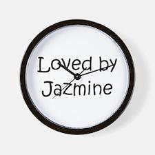 Cute Jazmine Wall Clock