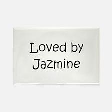 Cute Jazmine Rectangle Magnet