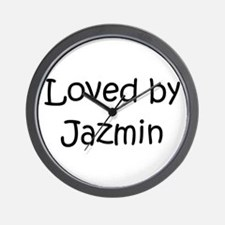 Cute Jazmin Wall Clock