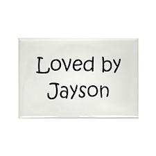 Cute Jayson Rectangle Magnet