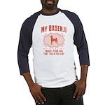 Basenji Baseball Jersey
