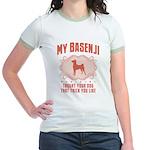 Basenji Jr. Ringer T-Shirt