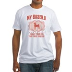 Basenji Fitted T-Shirt