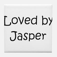 Cute Jasper Tile Coaster