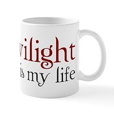 Twilight is my life Mug