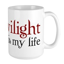 Twilight is my life Mug
