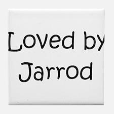 Unique Jarrod name Tile Coaster