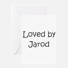 Funny Jarod Greeting Card