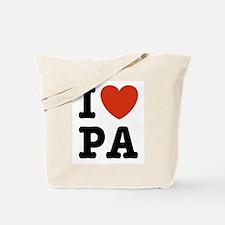 I Love PA Tote Bag