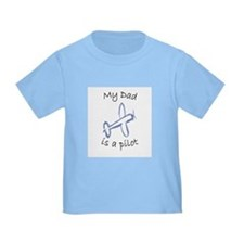 Kids Dad Airplane T-shirts T