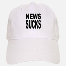News Sucks Baseball Baseball Cap