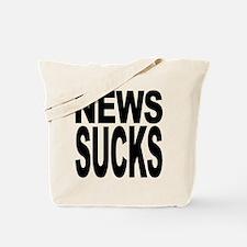 News Sucks Tote Bag