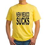 New Mexico Sucks Yellow T-Shirt
