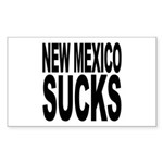 New Mexico Sucks Rectangle Sticker