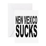 New Mexico Sucks Greeting Card