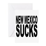 New Mexico Sucks Greeting Cards (Pk of 20)