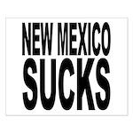 New Mexico Sucks Small Poster