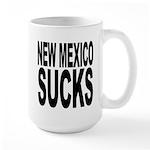 New Mexico Sucks Large Mug