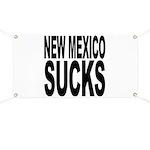New Mexico Sucks Banner