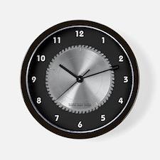 Saw Blade Wall Clock