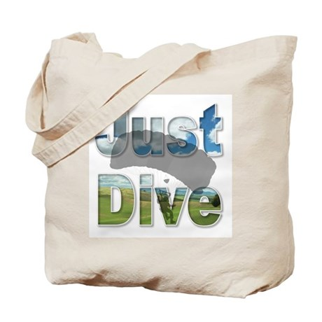 Just Fly Skydiving Tote Bag