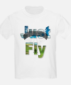 Just Fly Powered Parachute T-Shirt