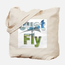 Just Fly Hang Gliding Tote Bag