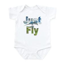 Just Fly Hang Gliding Infant Bodysuit