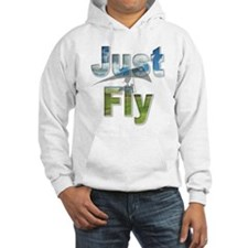 Just Fly Hang Gliding Hoodie