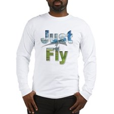 Just Fly Hang Gliding Long Sleeve T-Shirt