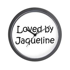 Cute Jaqueline Wall Clock