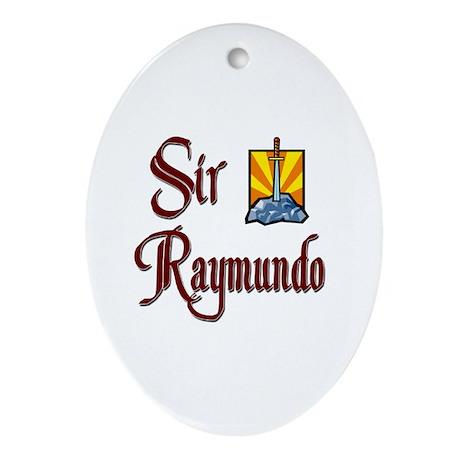 Sir Raymundo Oval Ornament