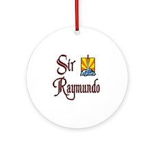 Sir Raymundo Ornament (Round)