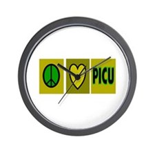 PICU Nurse Wall Clock