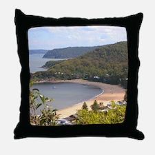 Pearl Beach, Central Coast Throw Pillow