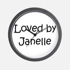 Cute Janelle Wall Clock