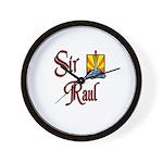 Sir Raul Wall Clock