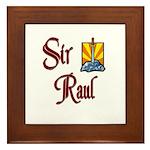 Sir Raul Framed Tile