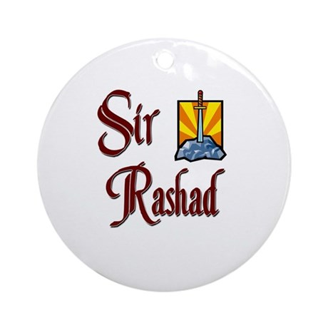 Sir Rashad Ornament (Round)