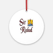Sir Rashad Ornament (Round)