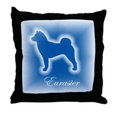 Eurasier Throw Pillow