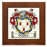 Doyle coat of arms Framed Tiles