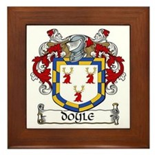 Doyle Coat of Arms Framed Tile