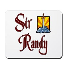 Sir Randy Mousepad