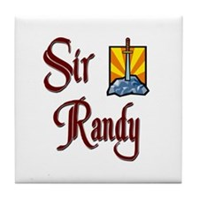 Sir Randy Tile Coaster