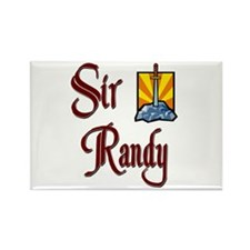 Sir Randy Rectangle Magnet