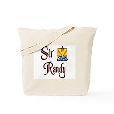 Sir Randy Tote Bag