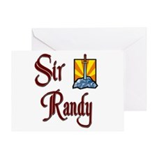 Sir Randy Greeting Card