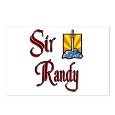 Sir Randy Postcards (Package of 8)